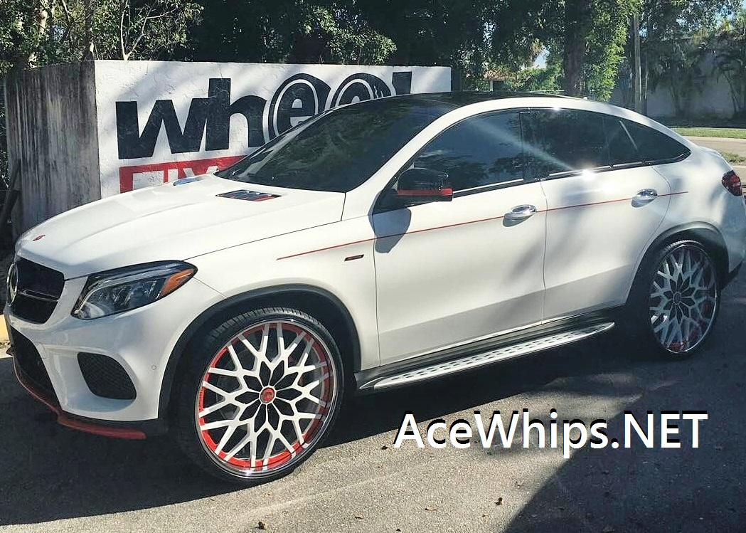 Ace 1 First Ever Mercedes Benz Gle 450 Amg On 26 Quot Forgiatos