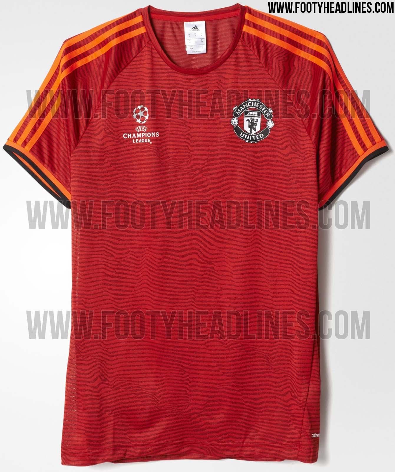 cheap for discount e20e9 e6745 manchester united champions league jersey