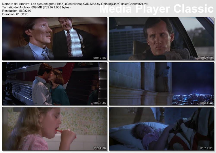 Imagenes de la película: Los ojos del gato   1985   Cat's Eye