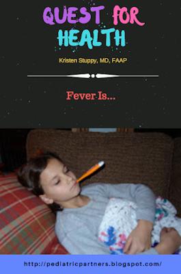 fever, temperature, sick