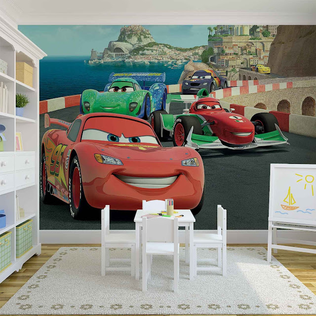 Disney Cars Wall Mural Kids Room Childrens room