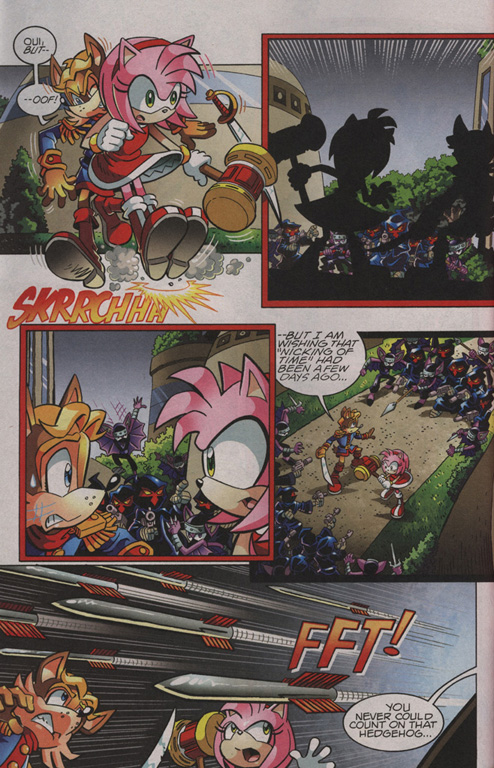 Read online Sonic The Hedgehog comic -  Issue #210 - 5