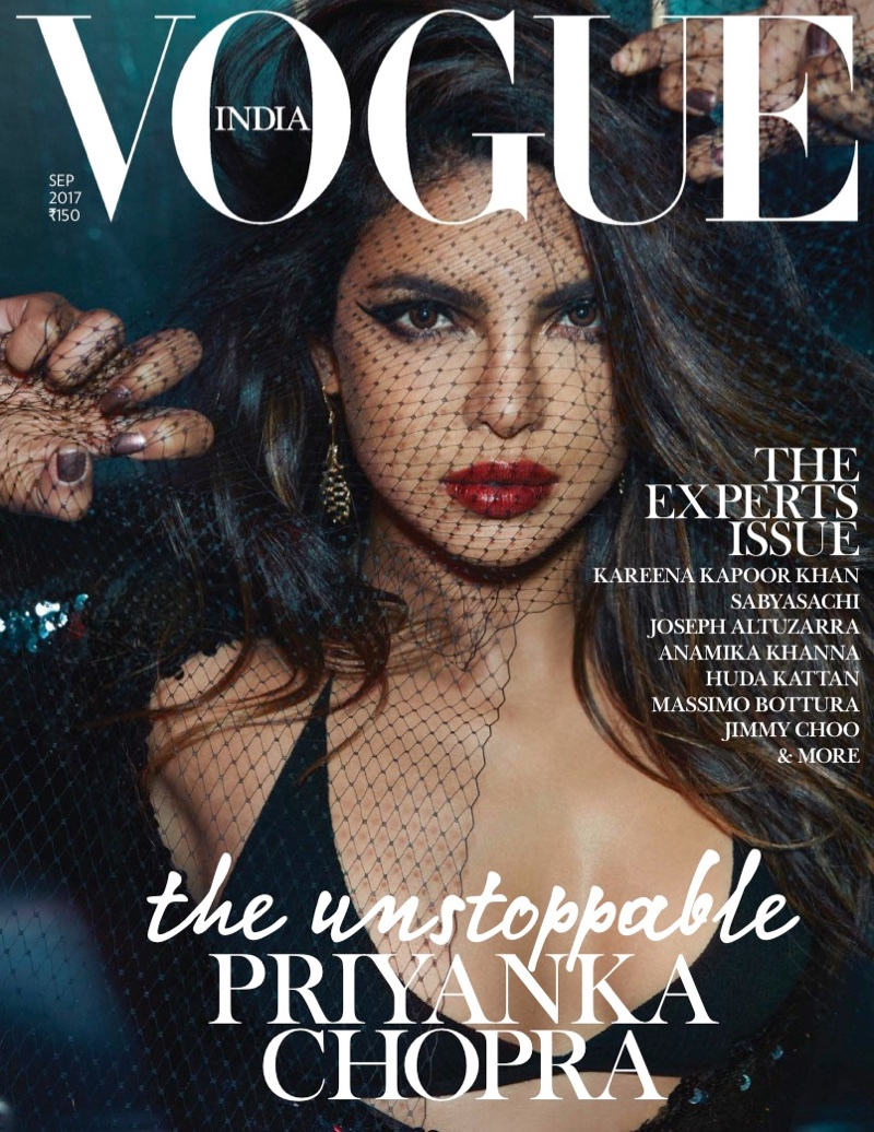 Priyanka Chopra shines for Vogue India September 2017
