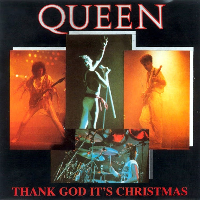 Portada del single Thank God It's Christmas de Queen