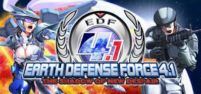 تحميل لعبة EARTH DEFENSE FORCE