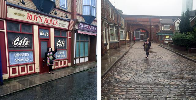 Roy's Rolls and Coronation Street