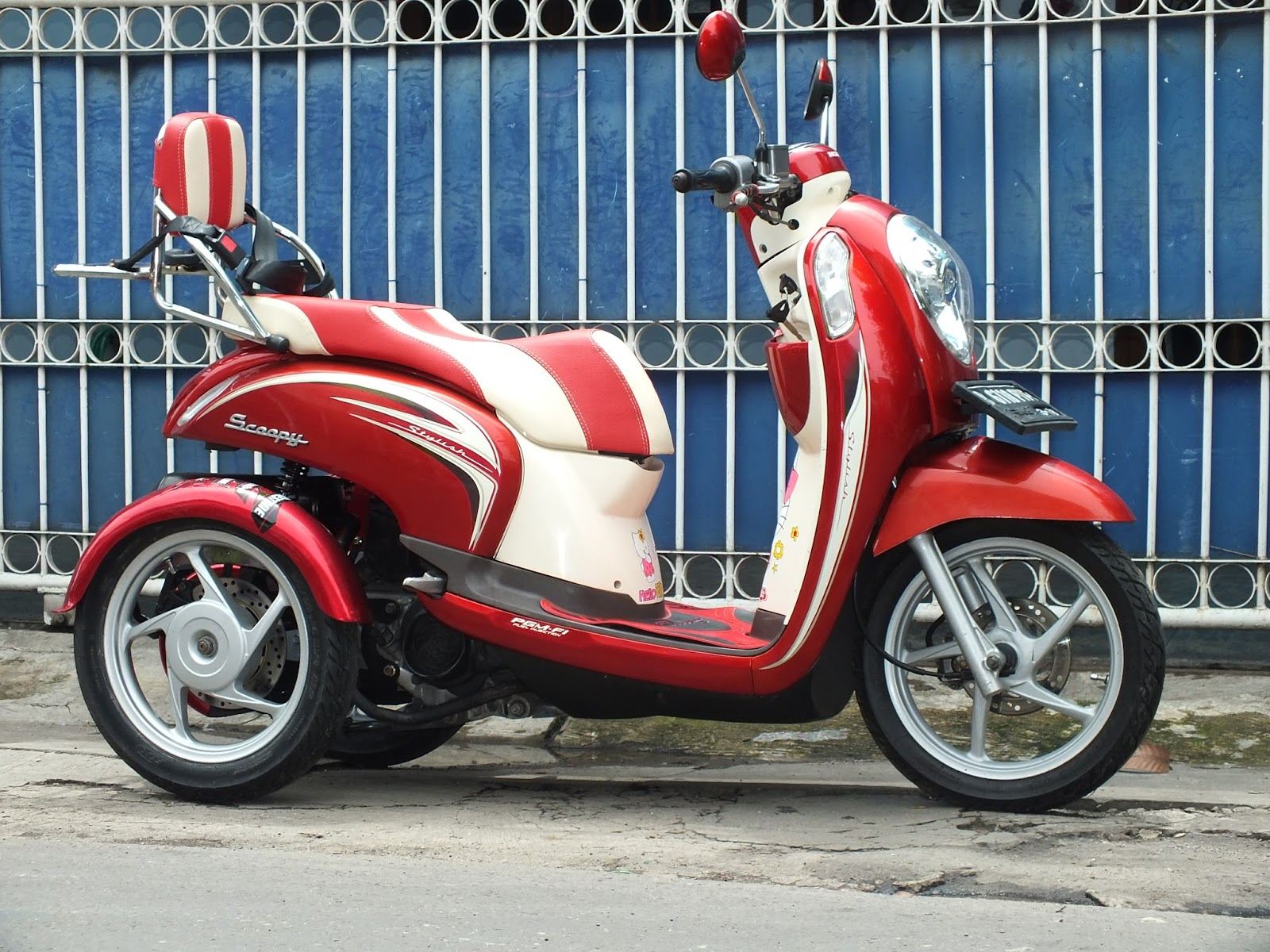 Oracle Modification Concept HONDA SCOOPY FI TRIKE RODA TIGA