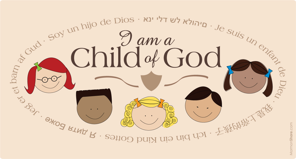 Would You Like To Sing A Song Practicing I Am A Child Of God