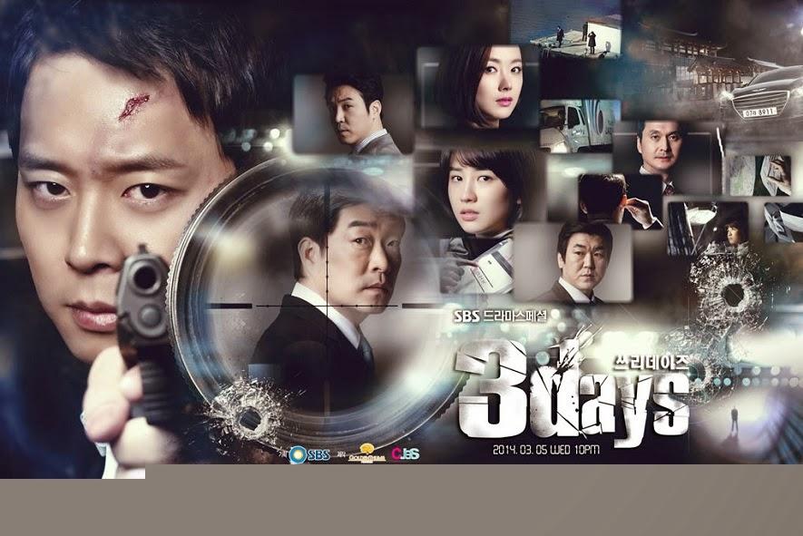 """""""Sinopsis lengkap drama three days"""""""