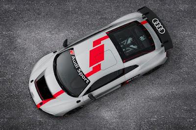 Audi R8 LMS GT4 2017 Top