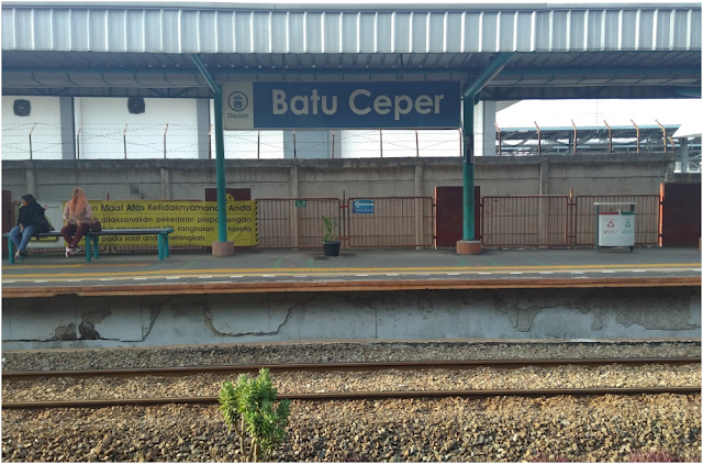 Stasiun Batu Ceper - Jadwal KRL Batu Ceper Terbaru