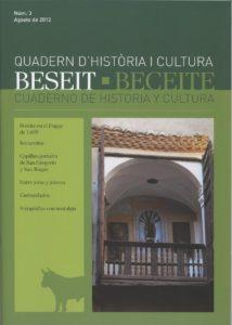 CUADERNO DE HISTORIA Y CULTURA, BECEITE Nº 3