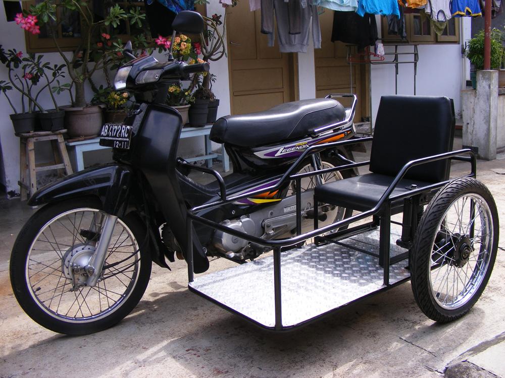 Modifikasi Motor Untuk Difabel: Modifikasi Motor Roda 3