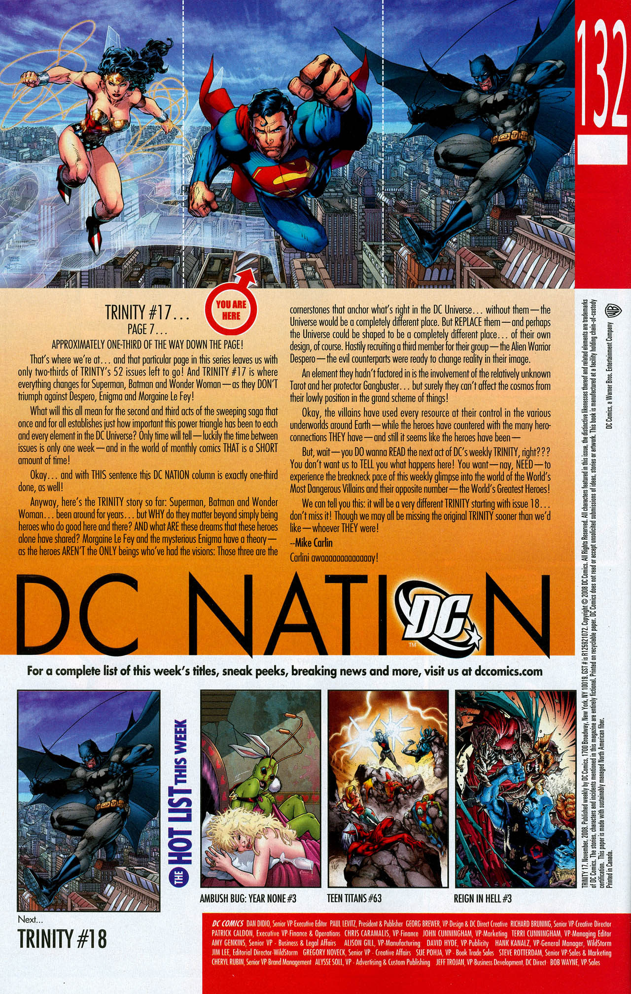 Read online Trinity (2008) comic -  Issue #17 - 31