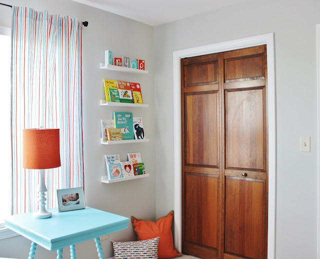 nursery book shelf ideas