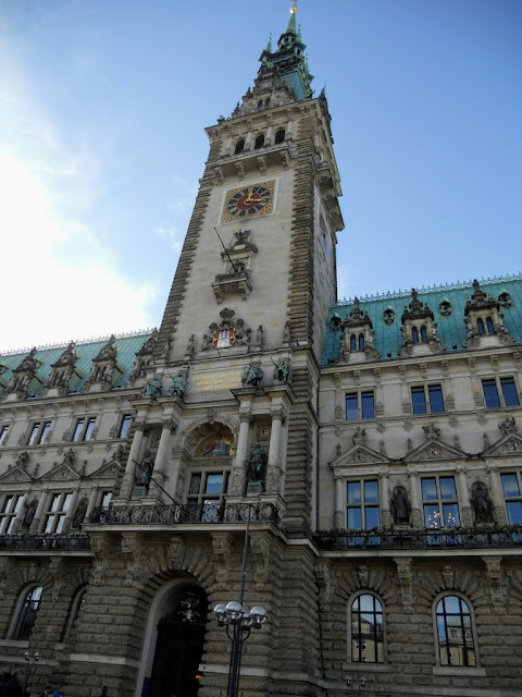 Hamburg points of interest: Hamburg Rathaus