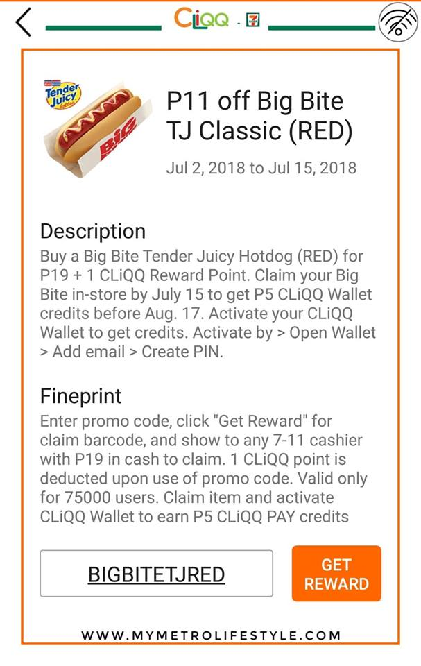 Big Bite Hot Dog Promo Code Anti Feixista