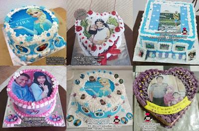 kue tart edible foto