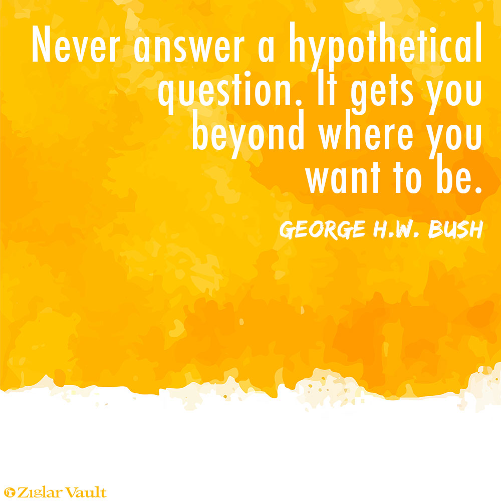 don t get caught the hypothetical media question and how to the hypothetical media question and how to answer it