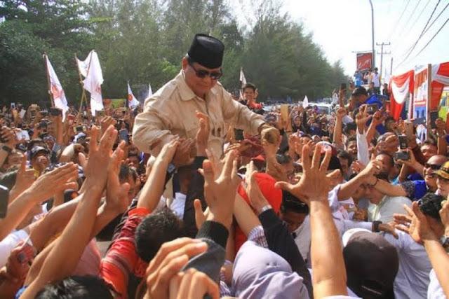 Di Rejang Lebong, Jokowi Tak Mampu Hadapi Dominasi Prabowo