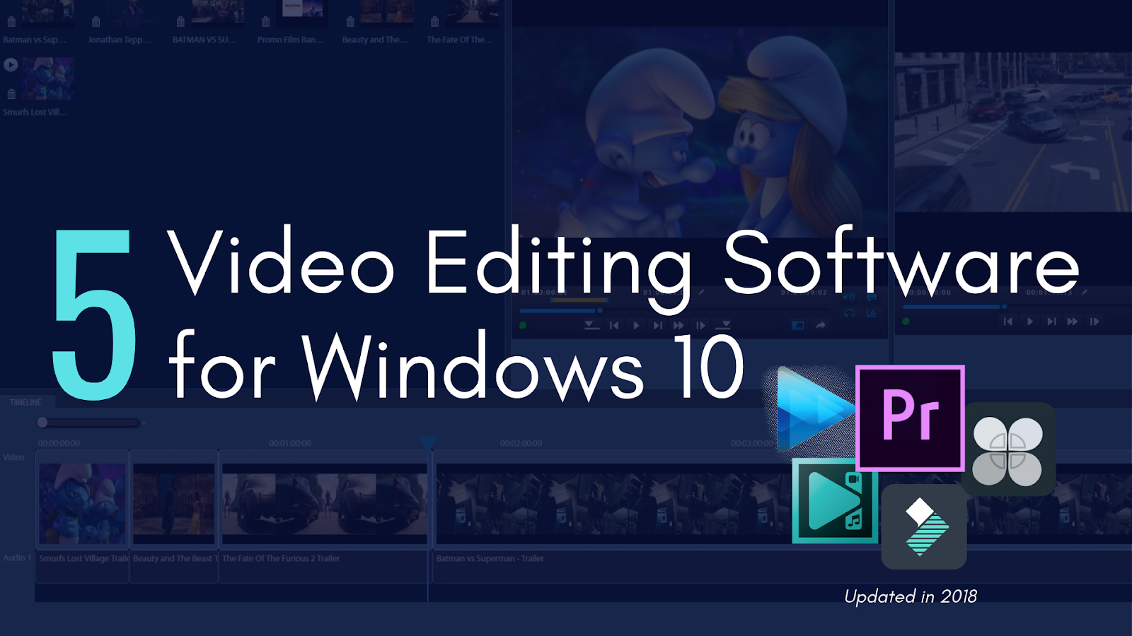 Top 5 Video Editing Software for Windows 10 in 2018 - Top