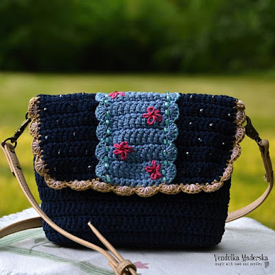 Crochet summer bag pattern