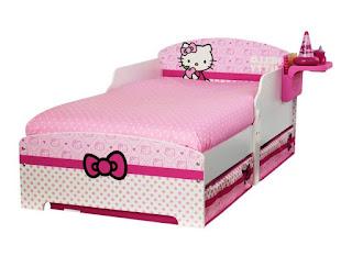 Gambar Ranjang Hello Kitty 9