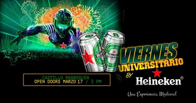 Viernes Universitario By Heineken Fiesta Zona Bogota Dc