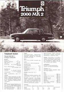 Triumph 2000 Mk2 Finland brochure 02