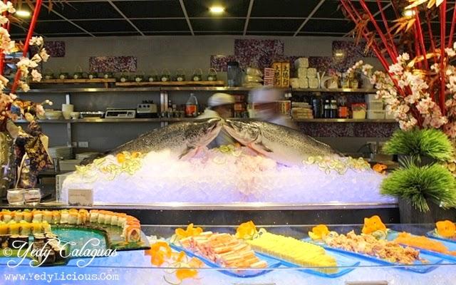 Sushi Station at Vikings Buffet SM Megamall