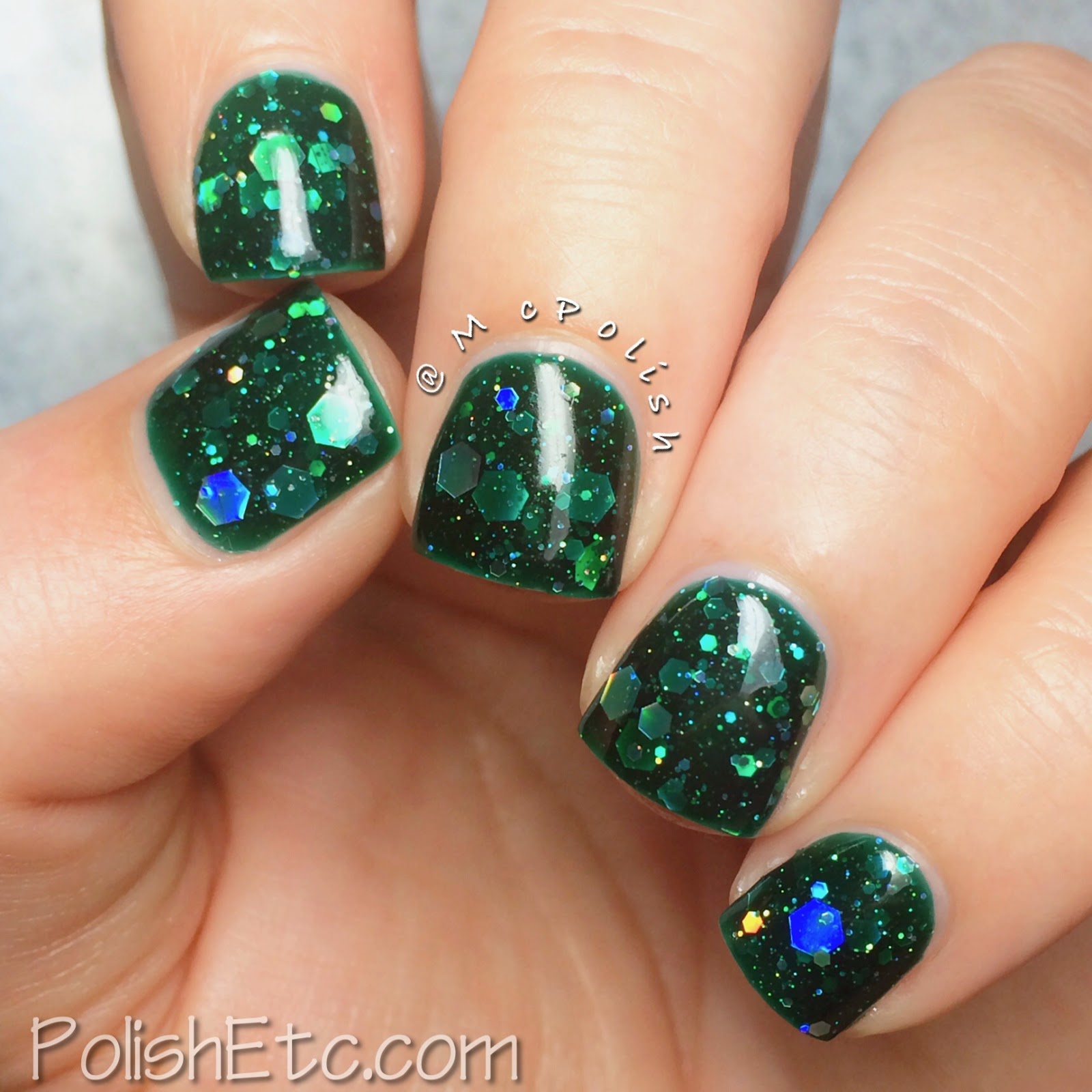 KBShimmer - Green Hex and Glam