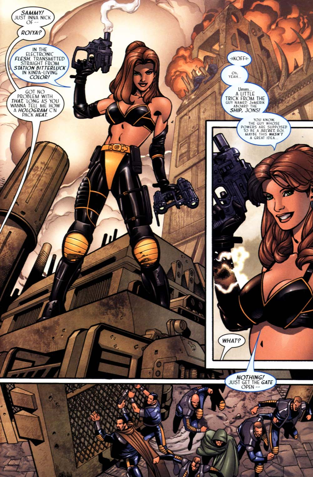Read online Sigil (2000) comic -  Issue #19 - 13