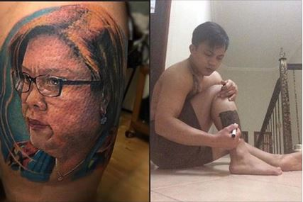 Netizen's Post About His Tattoo Of Senator Leila DeLima Goes Viral! Why? Find Out Here!