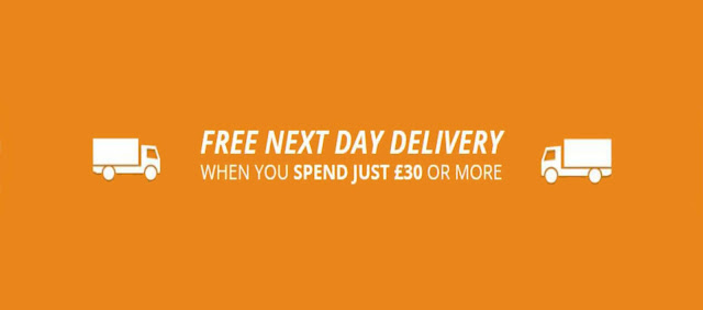 Spend £30 For Free Next Day Delivery