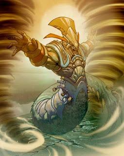 maya tanrısı, fırtına tanrısı