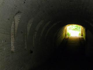 Тараканівський (Дубенський) форт. Вихід з тунелю