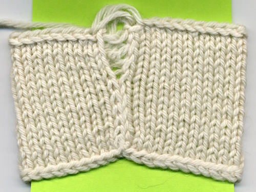 Knot Knecessarily Known Knitting Seaming Solution