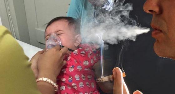 Selepas Merokok, Jangan Cium Dan Peluk Anak