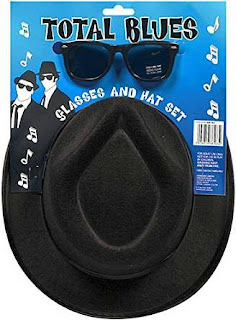 Total Blues Sunglasses and Hat Set