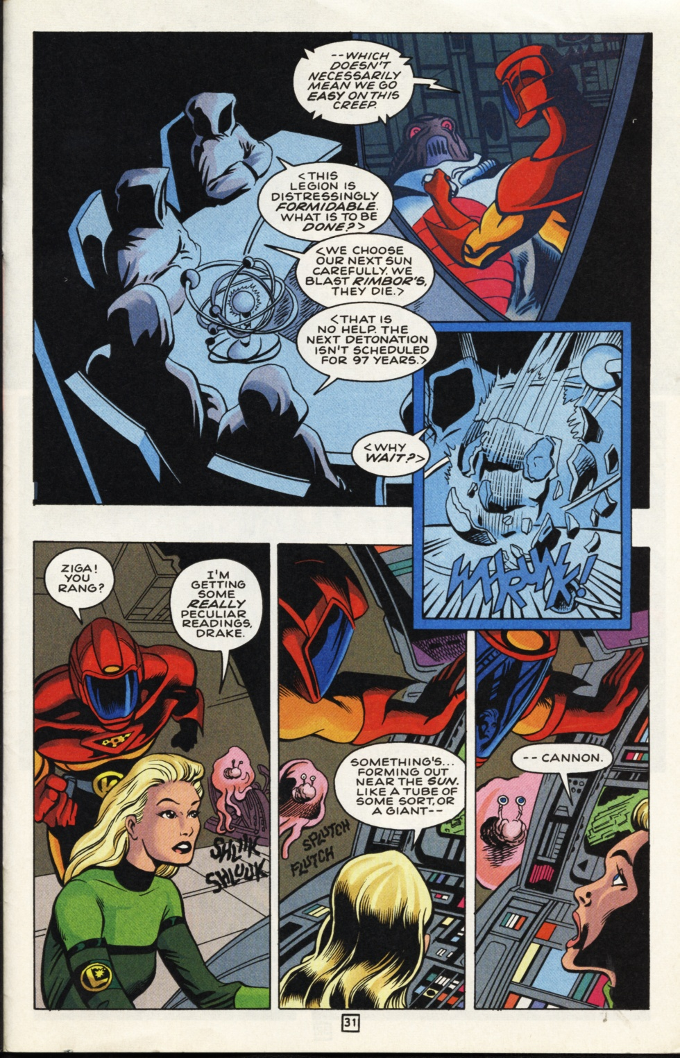 Legion of Super-Heroes (1989) _Annual_7 Page 32
