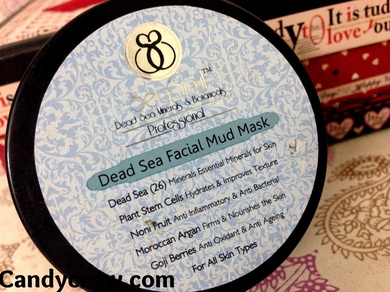 SeaSoul Dead Sea Facial Mud Mask Review