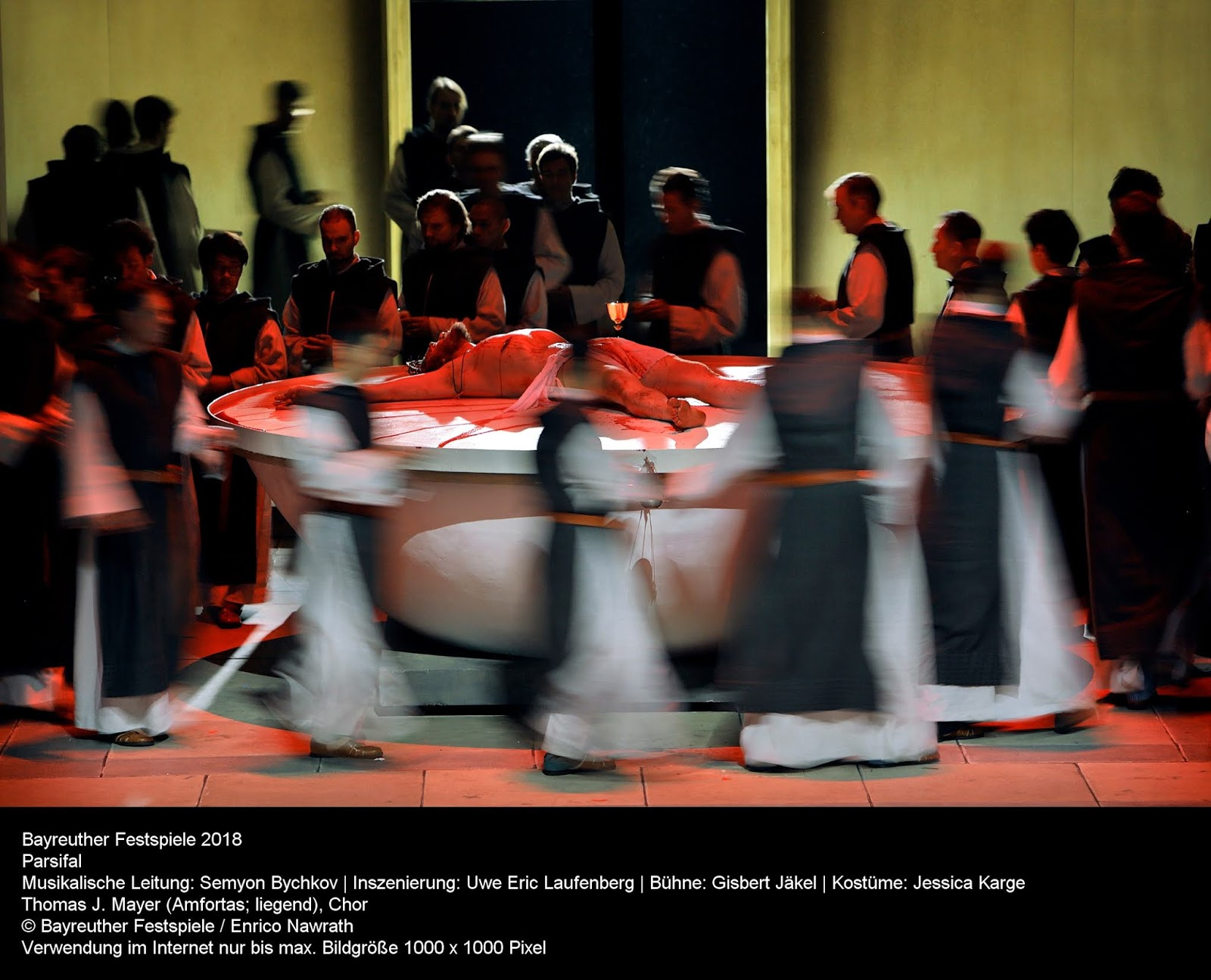 Bayreuth's Parsifal provided a sensitive portrayal of humanity overcoming adversity