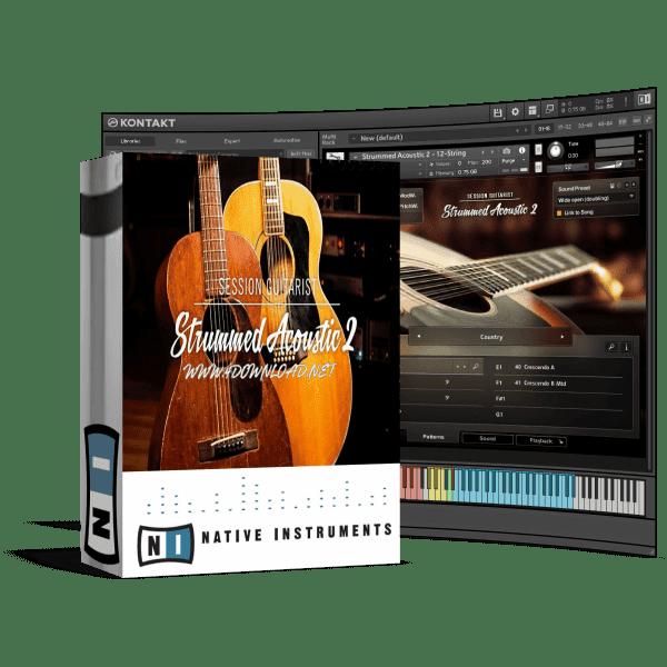 Native Instruments - Session Guitarist Strummed Acoustic 2 KONTAKT Library