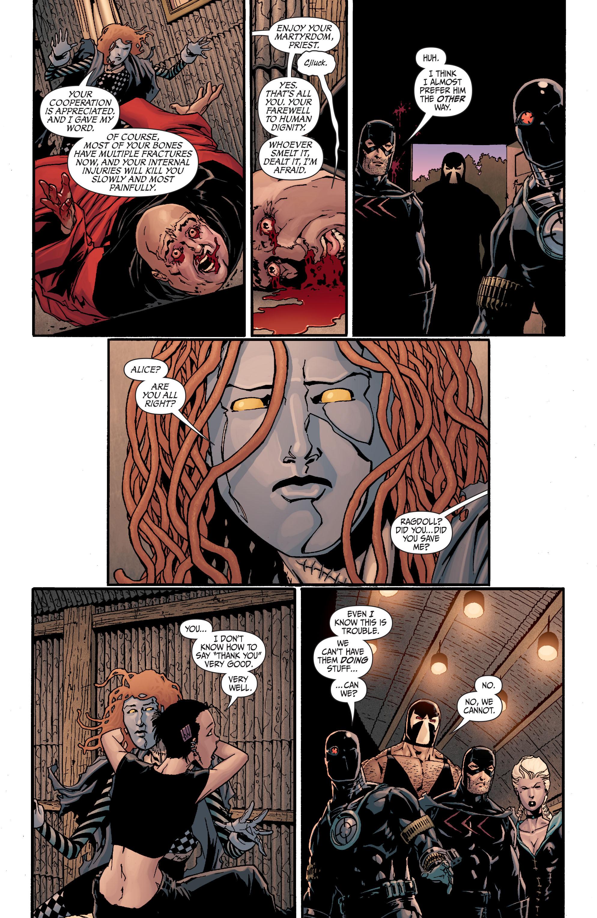 Read online Secret Six (2008) comic -  Issue #19 - 11