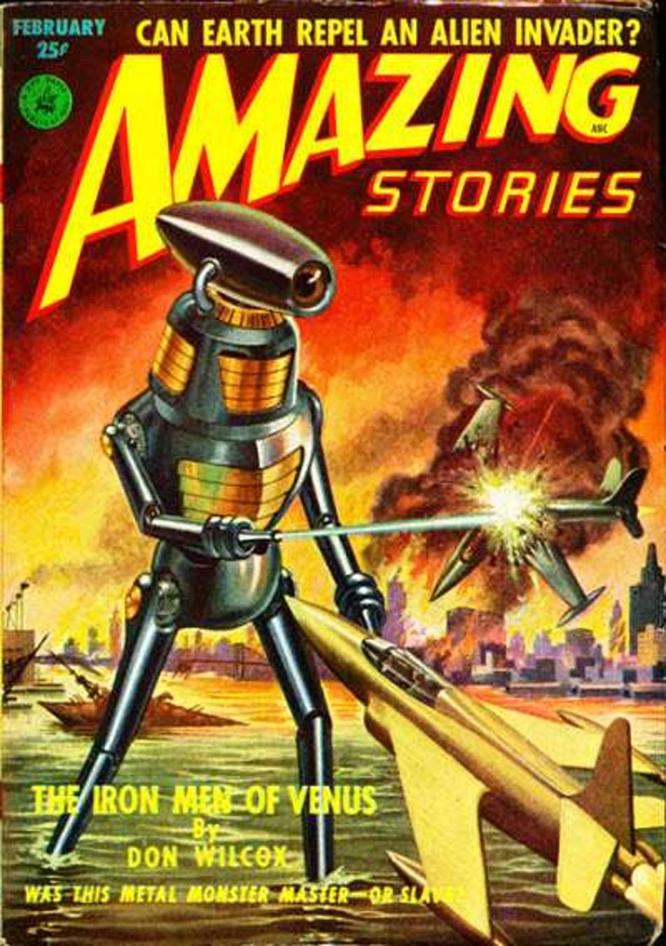 Amazing Stories Volume 21 Number 06: Rough Edges: Forgotten Books: The Iron Men Of Venus