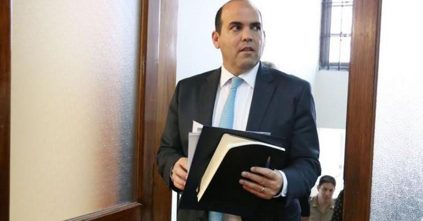 Fernando Zavala amenaza con nombrar a ministros del actual Gabinete