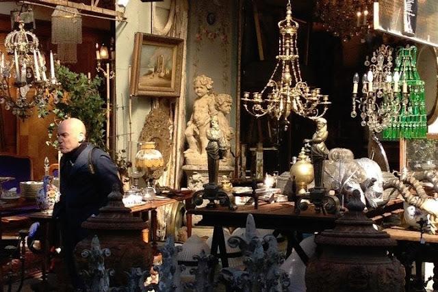 Paris flea market antiques