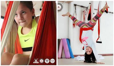 yoga, nilos, kids, aeroyoga, aero kids, air yoga, formacion, certificacion, yoga aereo, aerial yoga, teacher training, actividades para niños, seminario, webinar, columpio. hamaca, trapeze
