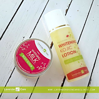lotion kojic dan body scrub