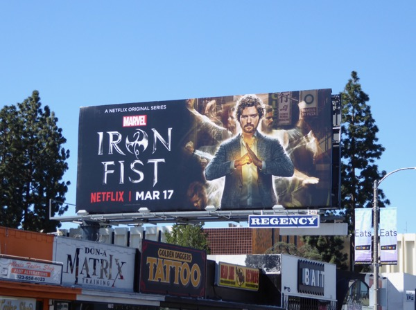 Iron Fist Netflix billboard